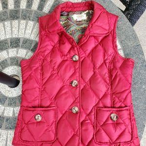 Talbots red vest (Petite Small)
